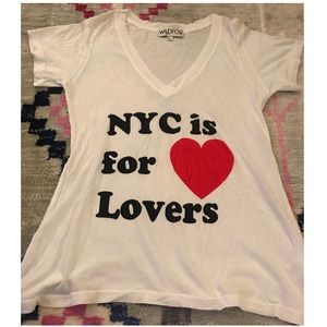 Wild fox NYC is for lovers t-shirt